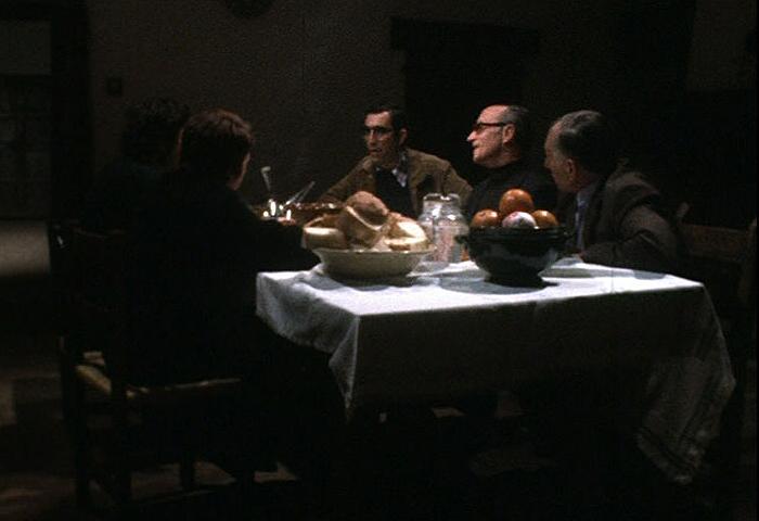 Fotograma de la pelicula 'El Sopar', de Pere Portabella.